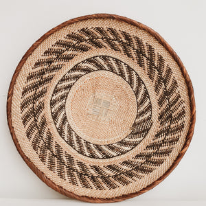 TONGA BASKET ZIGZAG EXTRA LARGE - Ashepa Lifestyle