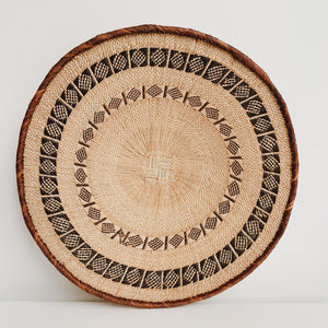 TONGA BASKET ZIGZAG LARGE - Ashepa Lifestyle