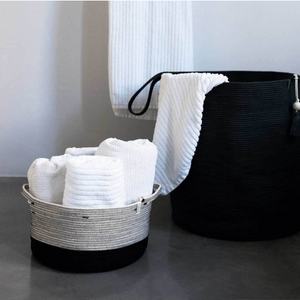 LIQUORICE HANDLE BASKET - Ashepa Lifestyle