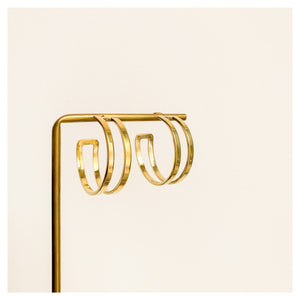 MAJI HOOP EARRINGS