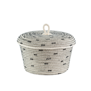 LIDDED BOWL BASKET - Ashepa Lifestyle