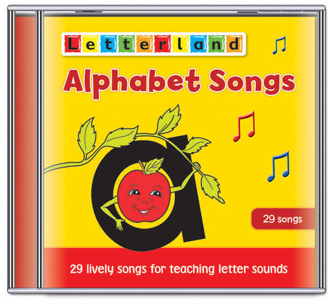 Alphabet Songs (CD)