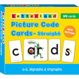 Picture Code Cards - Straight