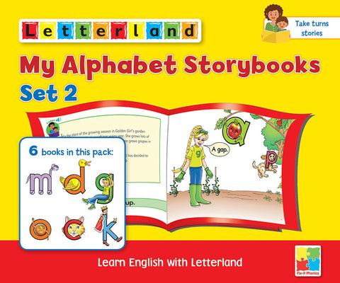 My Alphabet Storybooks Set 2