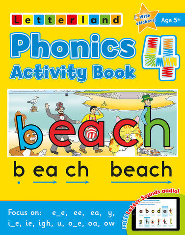 Phonics Activity Book 4