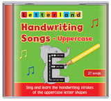 Handwriting Songs - Uppercase (CD)