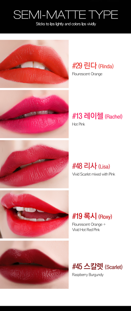 EGLIPS Real Color Lipstick Semi-Matte