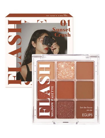 EGLIPS - Flash Shadow Palette 01 Sunset Crush