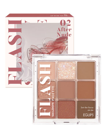 EGLIPS - Flash Shadow Palette 02 After Nude