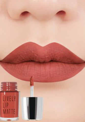 Eglips - Lively Lip Matte Lm 002 Fake Pumpkin Matte