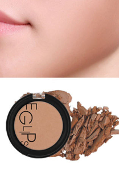 Eglips - Apple Fit Blusher 10 Almond Bronze
