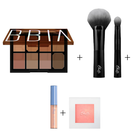 BBIA - Final Shadow Palette 04 Grain Combo + BBIA Multi Blending Brush Set + BBIA Last Eye Primer + BBIA Last Highlighter