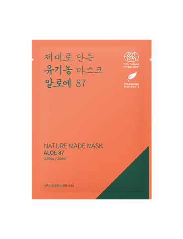 HANURSINBIHAN - Nature Made Mask Aloe 87
