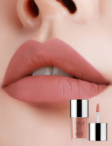 Eglips - Lively Lip Matte Lm 001 Misty Peach Matte