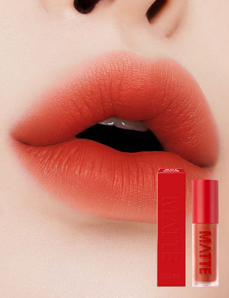 Eglips - Matte Fit Lip Lacquer 01 Orange