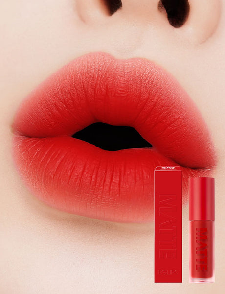 Eglips - Matte Fit Lip Lacquer 04 Red