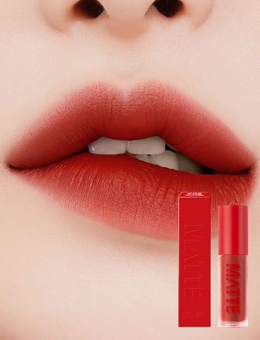 Eglips - Matte Fit Lip Lacquer 05 Brick