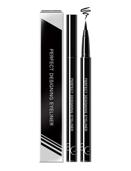 Eglips - Perfect Designing Eyeliner #01 Jet Black