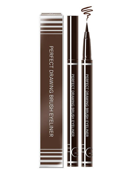 Eglips - Eglips Perfect Drawing Eyeliner #02 Drawing Brown