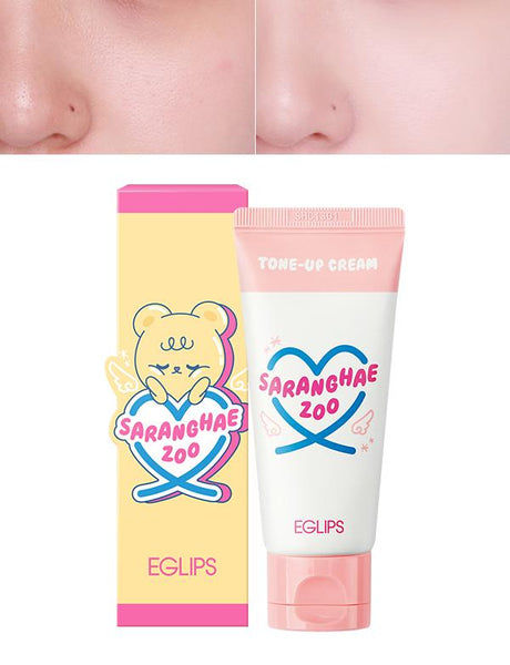 Eglips - Saranghae Zoo Tone Up Cream