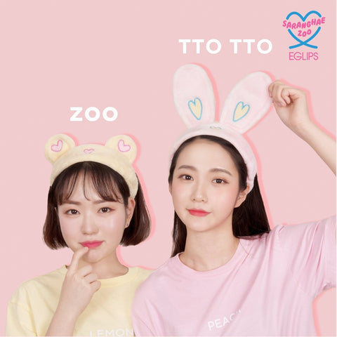Eglips - NEW Saranghae Zoo Headband for Cleansing
