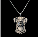Rottweiler Jewelry Necklaces Lovers Gift