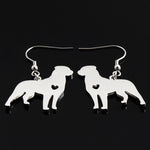 Rottweiler Stud Earrings for Women