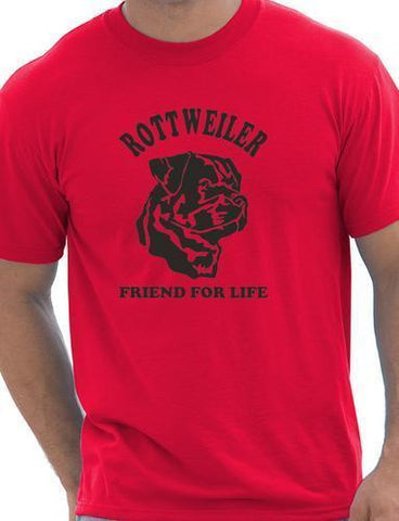 Rottweiler Dog Lover O-Neck Shirt