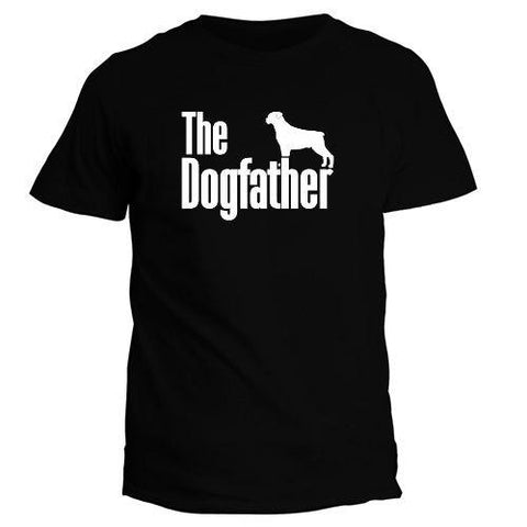 The Dogfather Rottweiler 3D Printed T Shirt