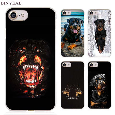 Rottweiler Cell Phone Case Cover for Apple iPhone 4 4s 5 5s SE 5c 6 6s 7 Plus