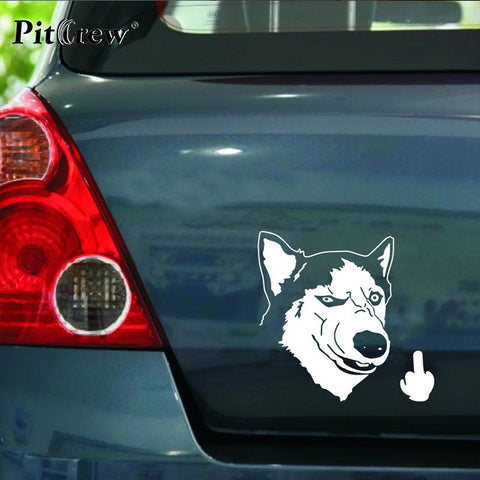 Huskies Dog Car Stickers Puppy Store