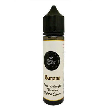 The Kings Custard - Banana Custard 50ml - The Ace Of Vapez