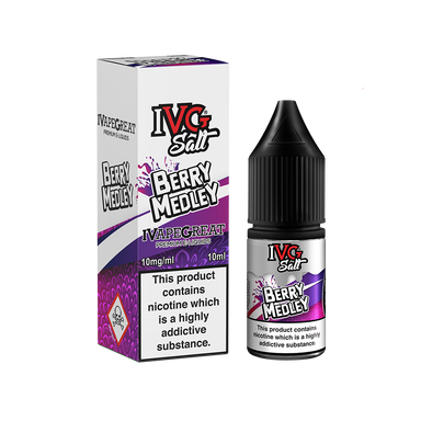 IVG Salts Berry Medley 10ml Nic Salts