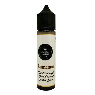 The Kings Custard - Cinnamon Custard 50ml - The Ace Of Vapez