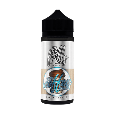No Frills Collection Series - The Coffee Shop Maple Syrup 80ml (Includes 2x15mg VG Nicotine shots)