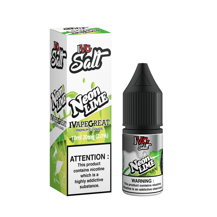 IVG Neon Lime 10ml Salt - The Ace Of Vapez
