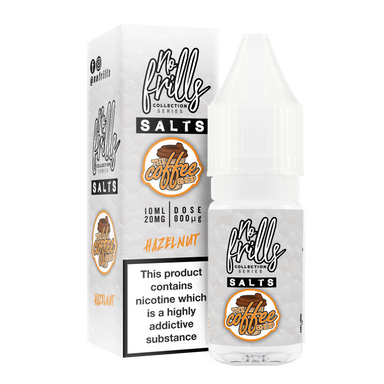 No Frills Salts - The Coffee Shop: Hazelnut Nic Salt 10ml