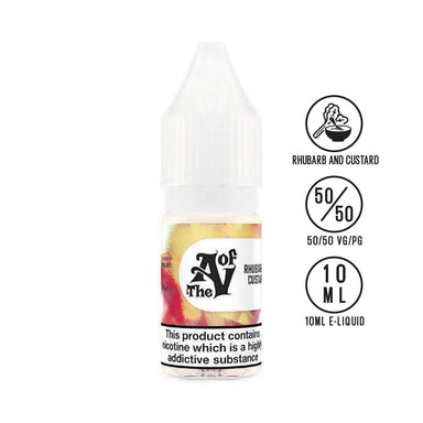 TAOV Basics - Rhubarb And Custard 10ml