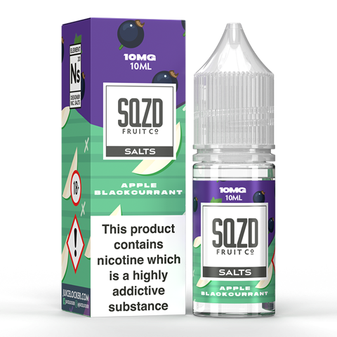 SQZD Juice Co. - Apple Blackcurrant Nic Salt 10ml