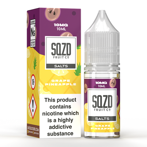 SQZD Juice Co. - Grape Pineapple 10ml Nic Salt