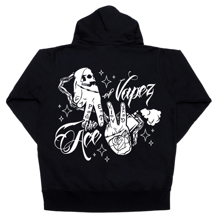 The Ace of Vapez 'Hands' Hoodie - The Ace Of Vapez
