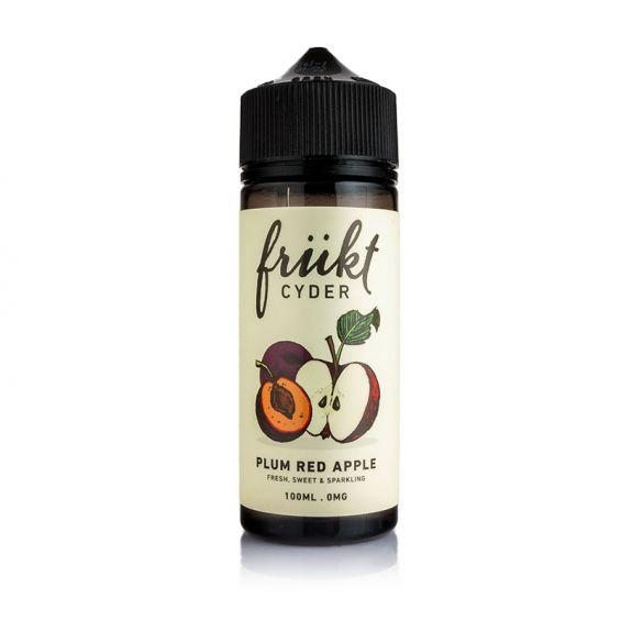 Frukt Cyder Plum & Red Apple 100ml E-liquid