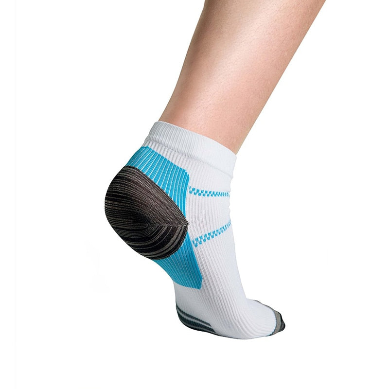 1pair =2 pcs Foot Compression Sock For Plantar Fasciitis Heel Spurs Pain Sport Sock FM0356
