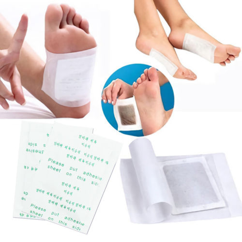 100 / 200pcs Green Tea Good Detox Foot Pad Patch Detoxify Toxins Adhesive Keeping Fit Health Care with Plaster Release Tiredness