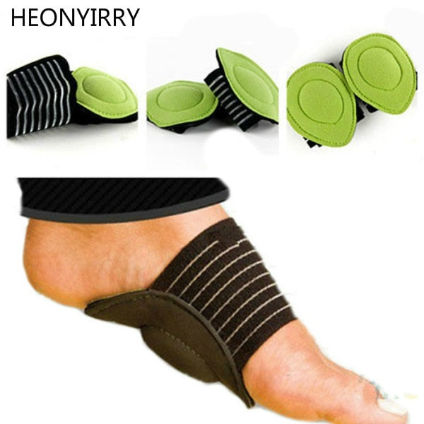 New Absorb Shocking Foot Arch Support Plantar Fasciitis Heel Pain Aid Feet Cushioned Useful