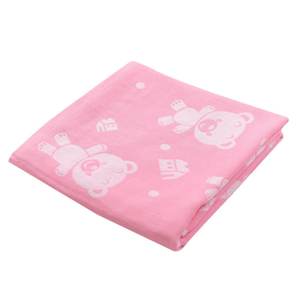 Baby and Newborn Textile Cotton Soft Bath Towel 110*110cm