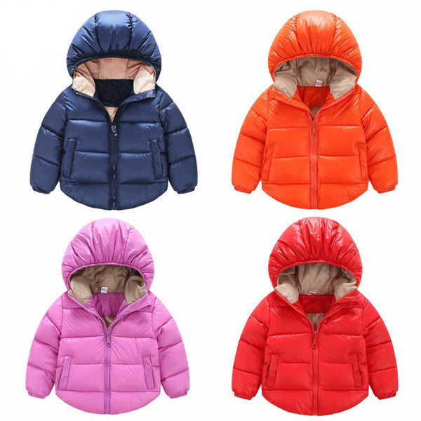 18m-5T Winter Newborn Baby Snowsuit Cotton Coat Jacket