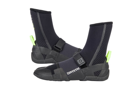 MYSTIC LIGHTNING BOOT 5MM SPLIT TOE – BLACK – 2018