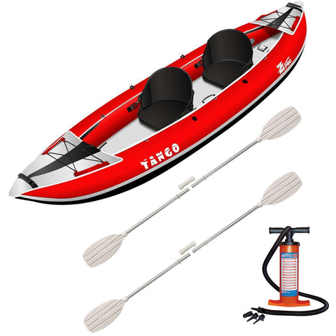 Z-pro Tango 2 man Inflatable Kayak Red Package