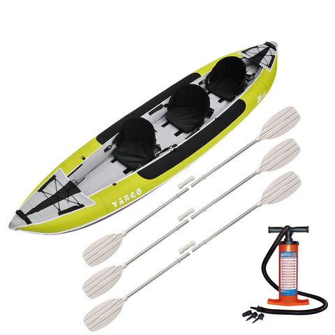 Z-pro Tango 3 man Inflatable Kayak Package
